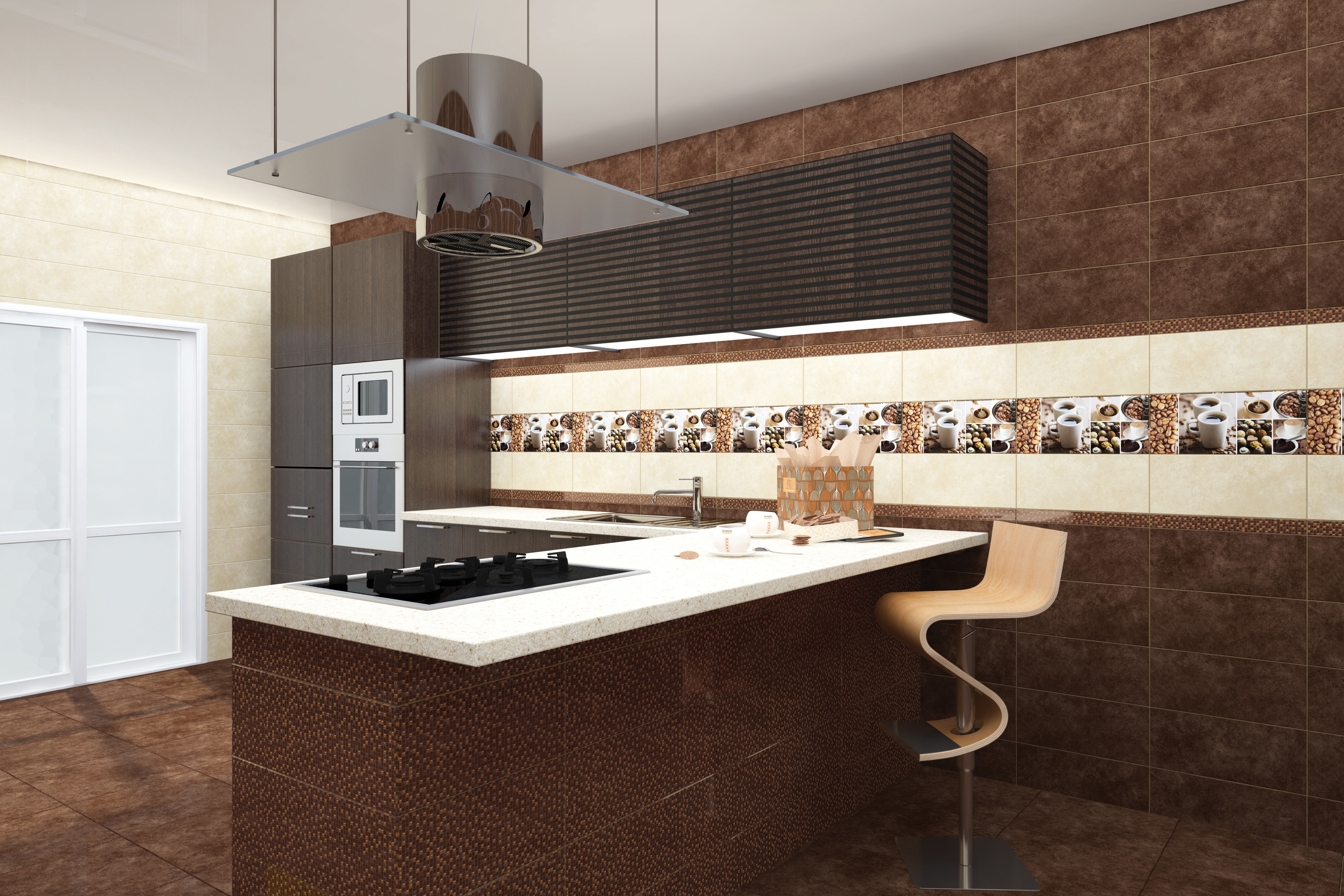 кухни фото кафель